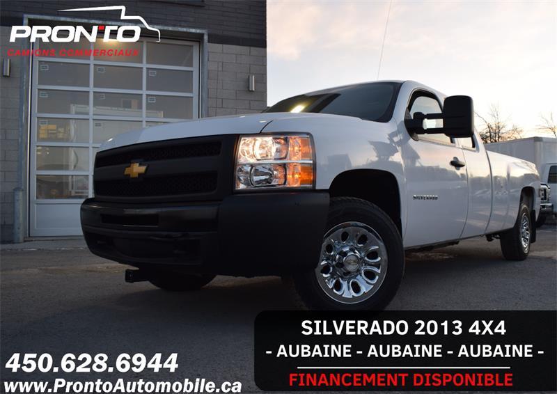 2013 Chevrolet Silverado 1500 4WD Ext Cab 157.5  Boite de 8 pieds  #1167