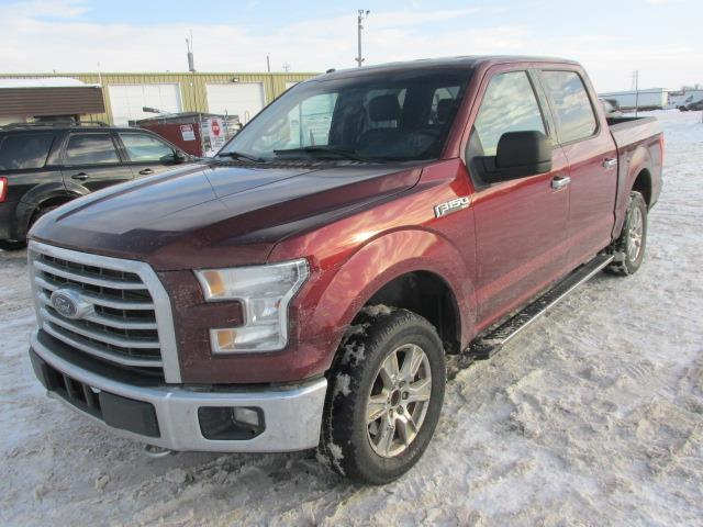 2016 Ford F-150 4WD SuperCrew #1169-1-26