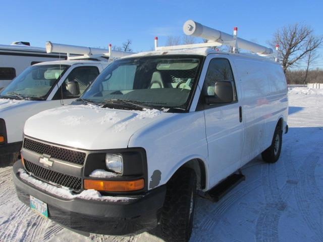 2007 Chevrolet Express Cargo Van RWD 2500 135 #1170-1-56