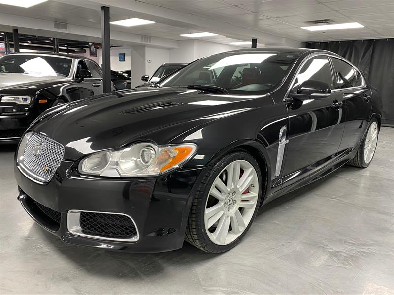 Jaguar XF 2010 XFR SUPERCHARGED V8 510HP #A7137-1