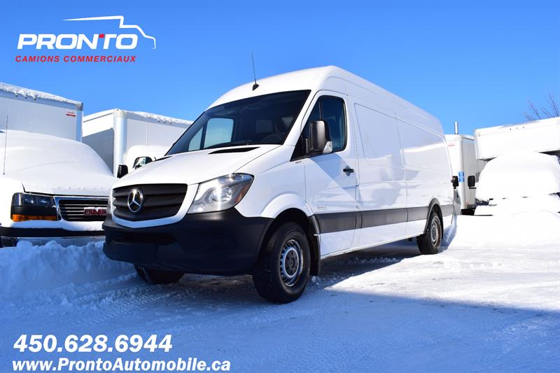 2016 Mercedes-Benz Sprinter Cargo Vans RWD 2500 170 High roof / Toit haut ** Camera **  #1224