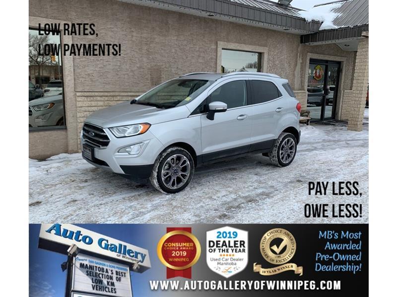 2018 Ford EcoSport Titanium *AWD/Navi/B.tooth/Back.Cam/Htd Lthr/Roof #24303