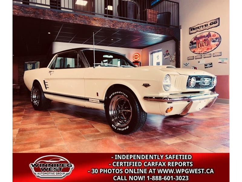 1966 Ford Mustang GT COUPE K-CODE HI-PO 289CI 4-SPEED FULLY RESTORED #W5464