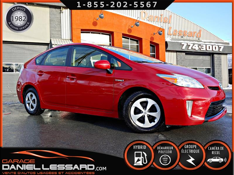 Toyota Prius 2015 GPS, TOIT SOLAIRE, TOIT OUVRANT, CAMERA #50063
