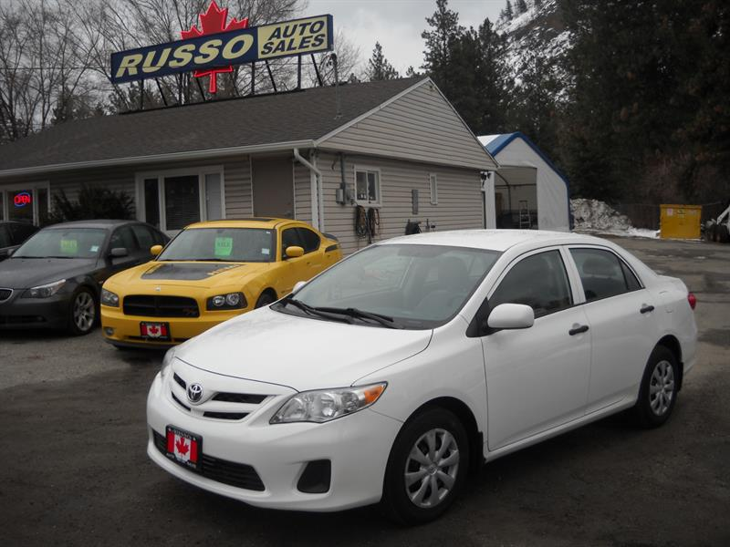 2011 Toyota Corolla 4DR SEDAN....ONLY 132 KMS #3459