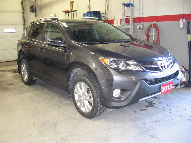 2015 Toyota RAV4 AWD 4dr Limited #1357A