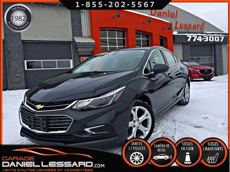 Chevrolet Cruze 2018 PREMIER, CUIR CHAUFFANT, MAG 17 P, SATELLITE #80005