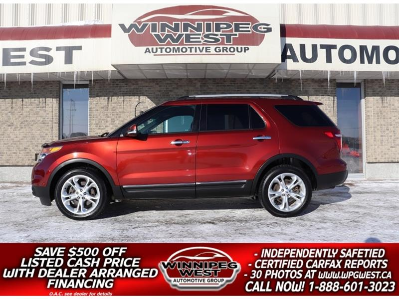 2014 Ford Explorer LIMITED NAV, ROOF$165 BI-WEEKLY INCL 2 YR WARRANTY #GNW5480