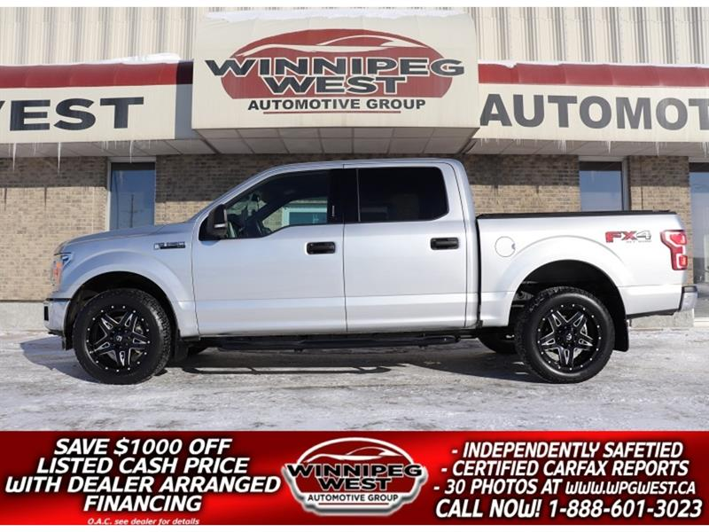 2018 Ford F-150 FX4 OFF ROAD 3.5L ECO 4X4 CREW, SHARP & FLAWLESS!! #GW5460