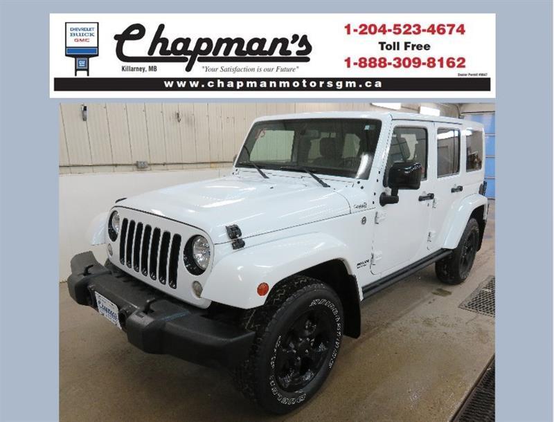 2015 Jeep Wrangler Unlimited Sahara #19-211A