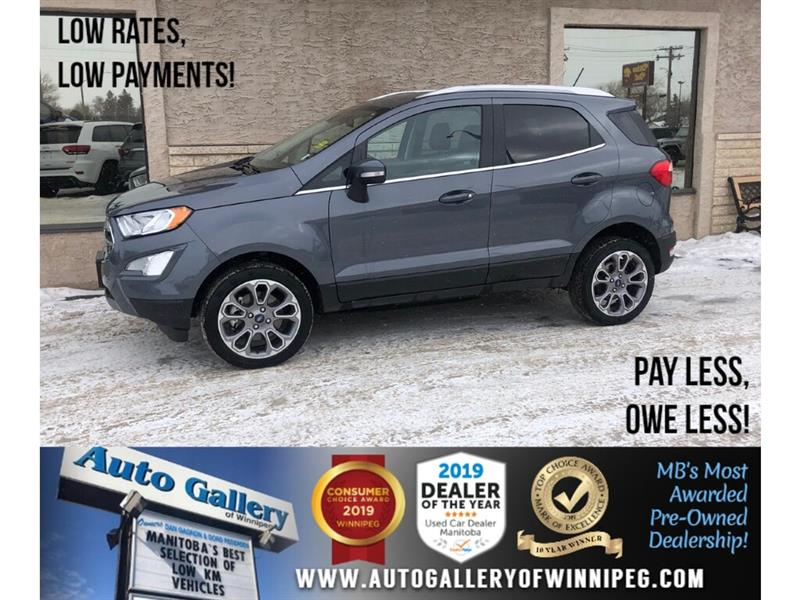 2018 Ford EcoSport Titanium *AWD/Navi/B.tooth/Back.Cam/Htd Lthr/Roof #24306