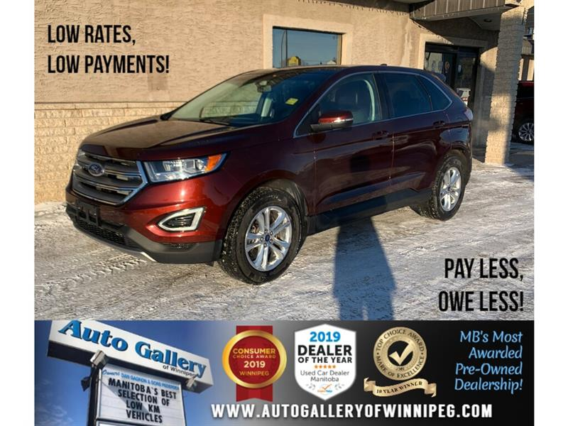 2016 Ford EDGE SEL *Local Trade/AWD/Navi/B.tooth/Htd Lthr/Pano #24301A