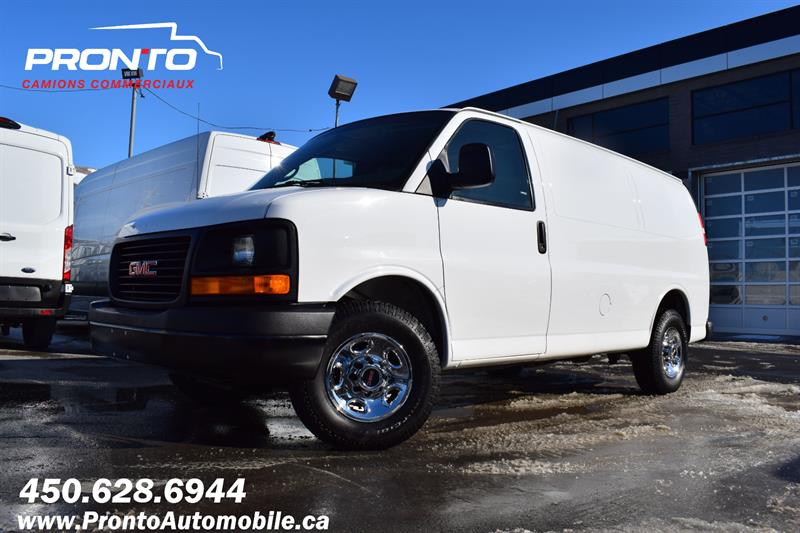 GMC Savana Cargo Van 2012 2500 ** 4.8L ** Séparateur ** Tablettes ** #1230