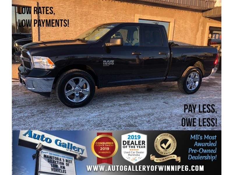2019 Ram 1500 Classic ST *Acc-Free/Local MB Unit/4x4/B.tooth/V6 #24317