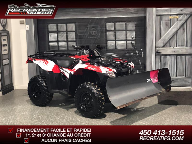 Honda TRX 420 FourTrax 2016