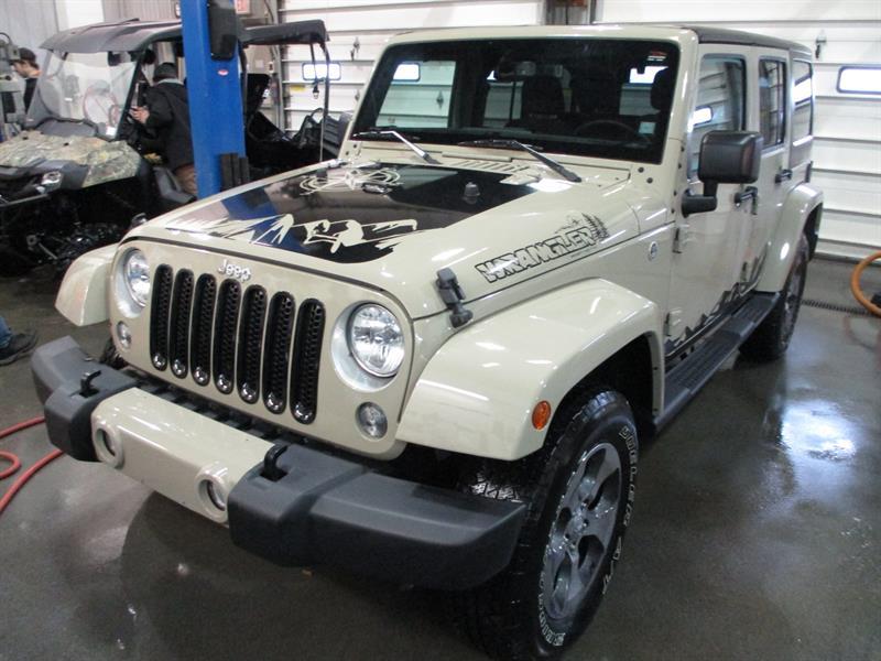 2018 Jeep Wrangler JK Unlimited Sahara 4x4 #JL833209A