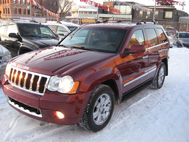 2008 Jeep Grand Cherokee 4WD 4dr Overland #504949