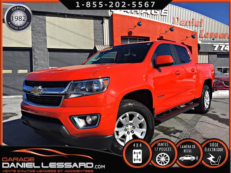 Chevrolet Colorado 2019 LT, 4WD CREW CAB, BTE 5 P, MAG 17 P #90108