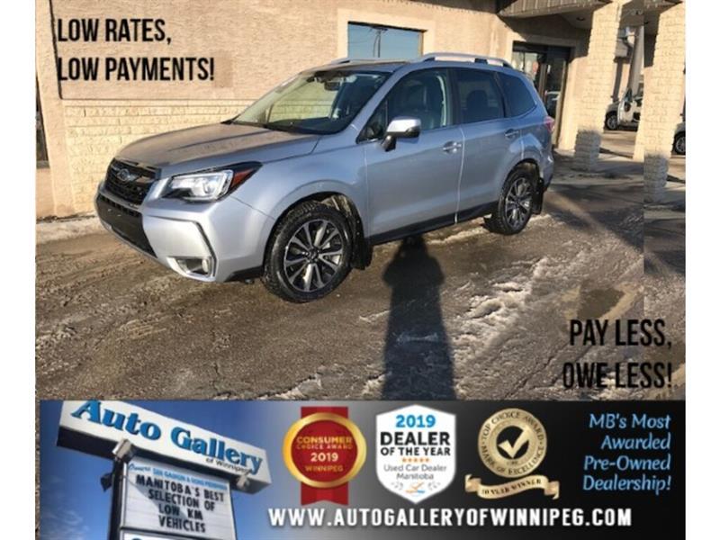 2018 Subaru Forester Limited *Lthr/Pano/Nav/EyeSight #24324