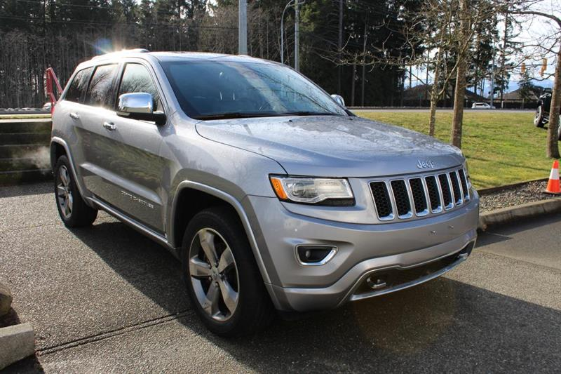2015 Jeep Grand Cherokee 4WD Overland #12646A (KEY 108)