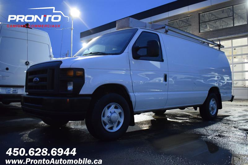 Ford Econoline Cargo Van 2013 E-250 Ext/Allongé ** FULL RACK **  #1235