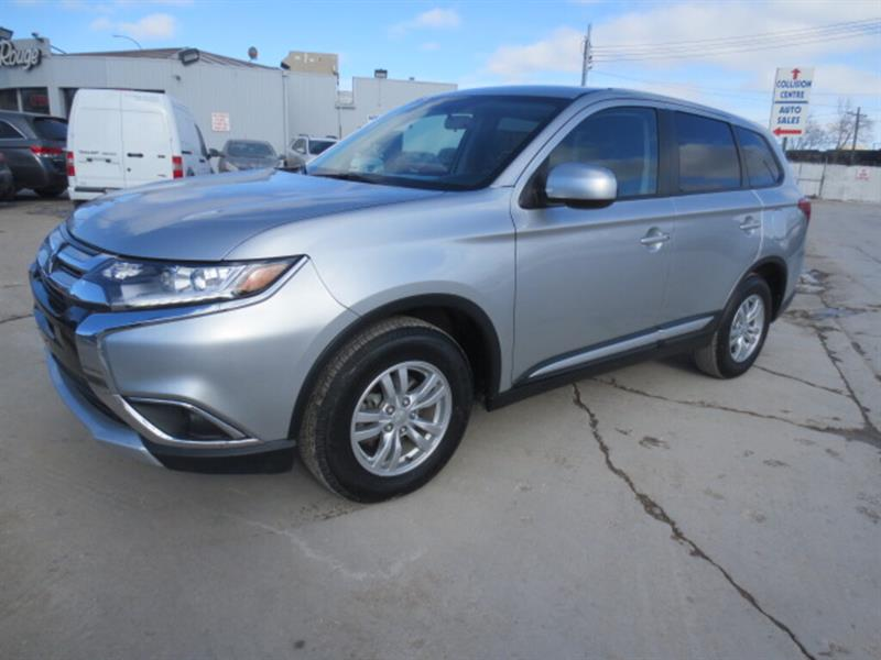 2018 Mitsubishi Outlander ES AWC - Heated Seats/Bluetooth/Camera #4403