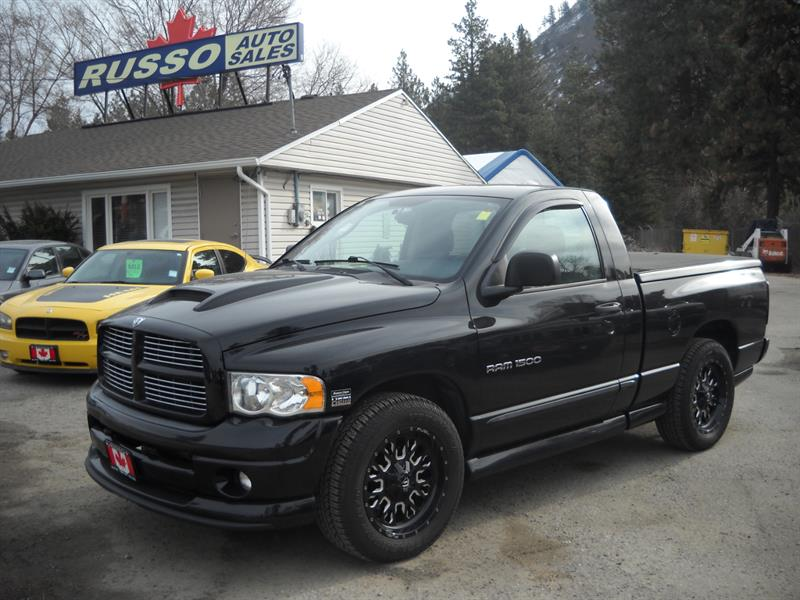 2005 Dodge Ram 1500 SLT 4X4, RUMBLE BEE #3475  #3467