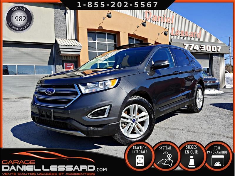 Ford EDGE 2018 26250KM, SEL AWD, CUIR, TOIT, ACCIDENTÉ ARRIÈRE #89130