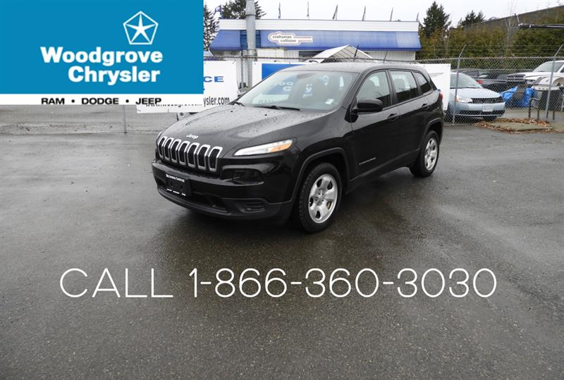2016 Jeep Cherokee FWD 4dr Sport #S699187A