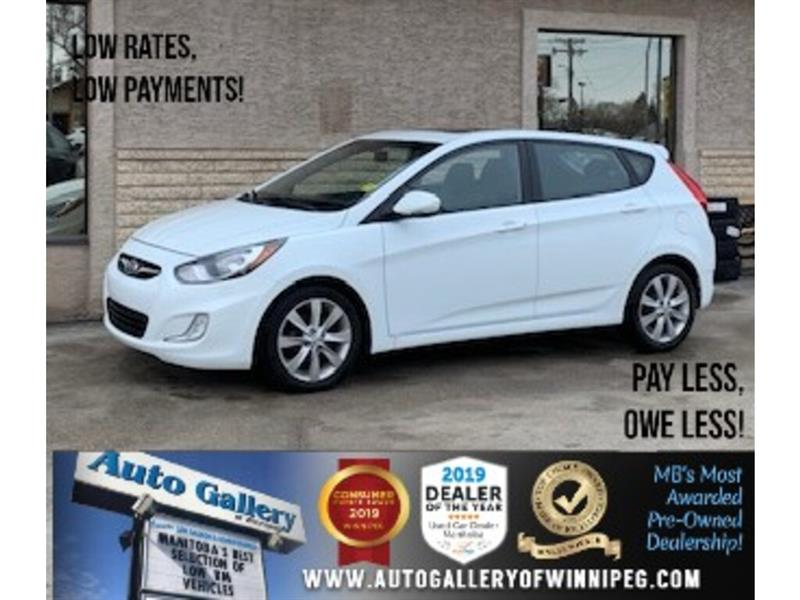 2014 Hyundai Accent GLS *1 Prev. Owner/Htd Seats/Sunroof #24268