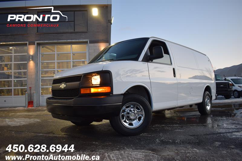 Chevrolet Express Cargo Van 2012 2500 ** 4.8L ** Gr. Électrique ** Full rack **  #1238