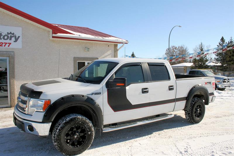2013 Ford F-150 4WD SuperCrew #L-20122