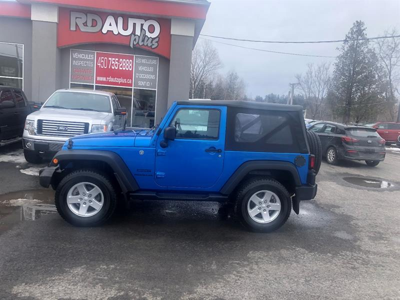 Jeep Wrangler 2016 4WD 2dr Sport #11009