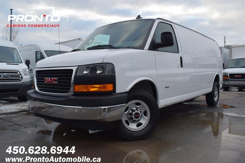 2018 GMC Savana Cargo Van RWD 3500 155 Allongé extended ** DIESEL **  #1246