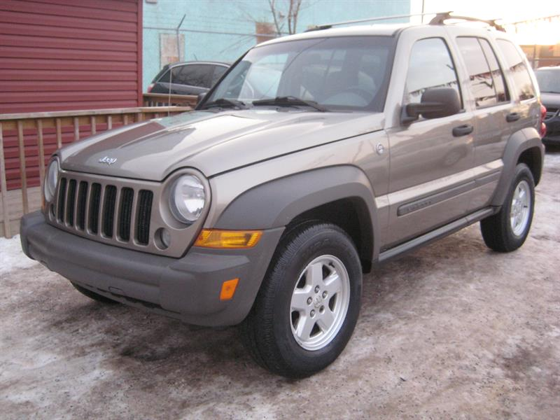 2007 Jeep Liberty 4WD 4dr Sport #617150