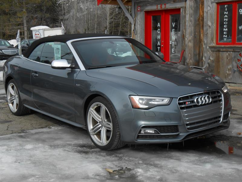 2013 Audi S5 convertible/quattro  #1688