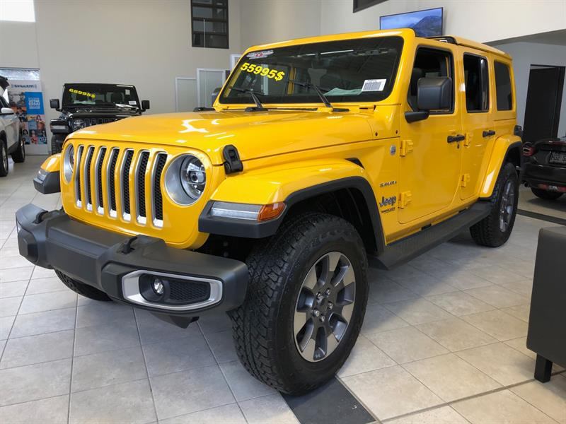 Jeep Wrangler Unlimited 2019 Sahara 4x4 #39201