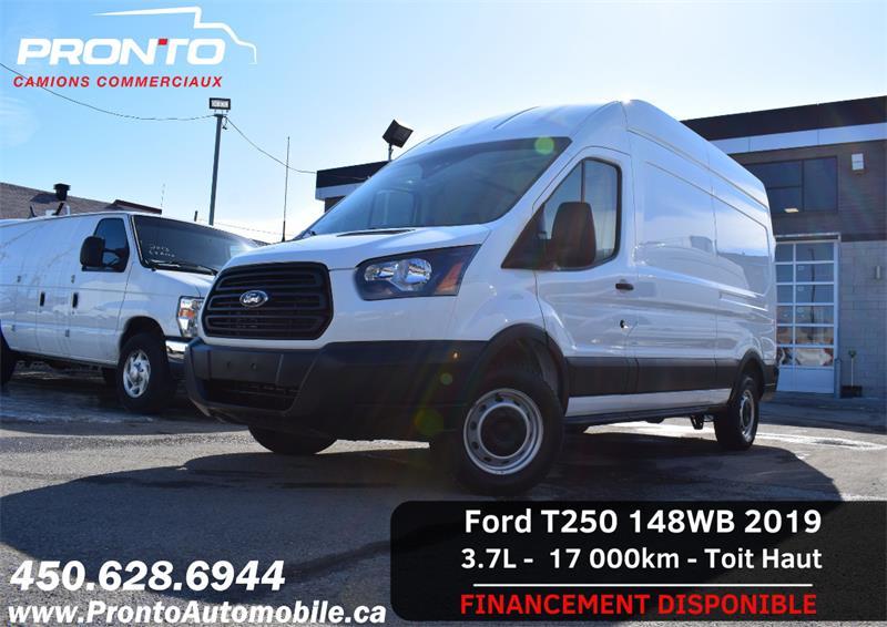 Ford Transit Van 2019 T-250 148 ** Toit Haut 6 Pieds ** HITCH **   #1250