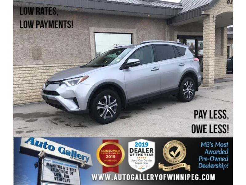 2017 Toyota RAV4 LE *AWD/B.tooth/Back.Cam/Htd Seats #24357