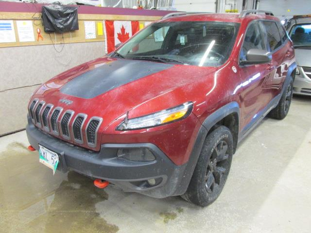 2015 Jeep Cherokee 4WD 4dr Trailhawk #1176-2-54