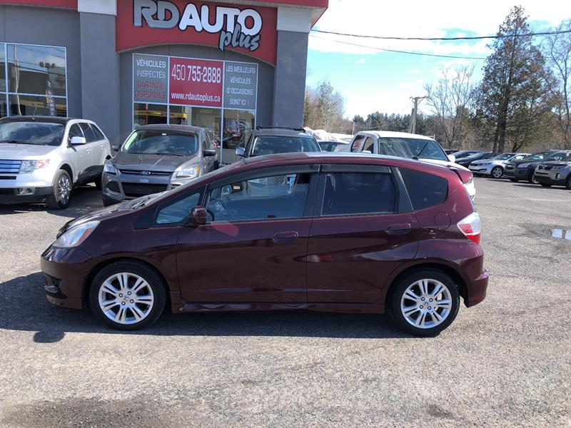 Honda Fit 2009 5dr HB Man Sport #10921