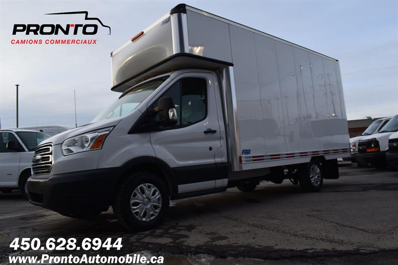 Ford Transit Chassis Cab 2015 T-350 ** 13 PIEDS DECK ** 3.7L **  #1256