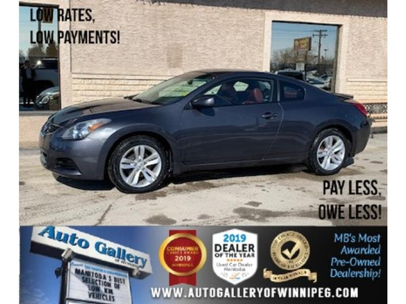 2012 Nissan Altima S *Heated Leather/Roof/Coupe #24185a
