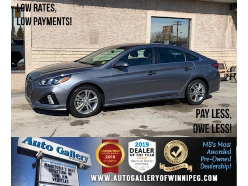2018 Hyundai Sonata Sport *Bluetooth/B.Cam/Htd Lthr/Sunroof #24366