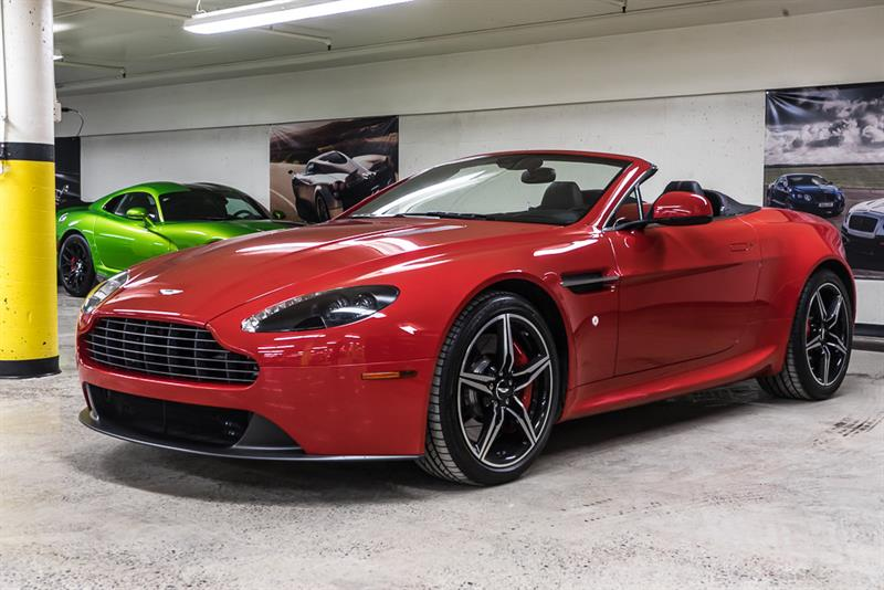2016 Aston Martin V8 Vantage Roadster Manual #P16387