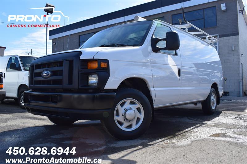 Ford Econoline Cargo Van 2014 E-150 ** 4.6L ** Full Rack ** Comme neuf ** #1255