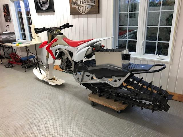 Honda CRF450R 2016 Snow Bike