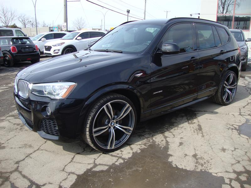 2016 BMW X3 M PK 22MAGS NAViGATION-CUIR-PANORAMIC ROOF-CAMERA #M2-6429
