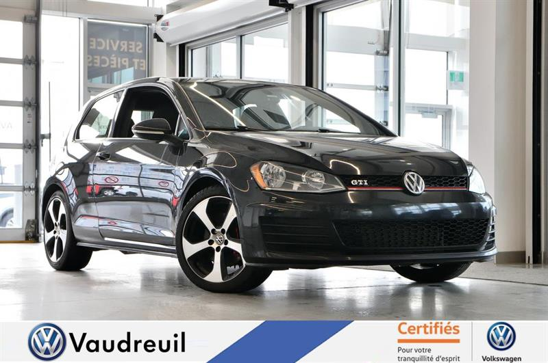 2015 Volkswagen Golf 3-Door