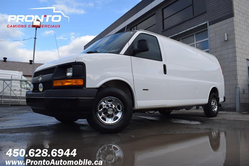 Chevrolet Express Cargo Van 2013 RWD 3500 155 Allongé extended ** DIESEL **  #1258